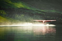I so want to take a seaplane and land on the water in Alaska or Canada!