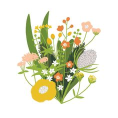 sized x Floral Alphabet print. Professionally printed on uncoated stock, with small white border. Posted in a plastic sleeve. © Sarah Abbott Colours in print may always differ from your monitor. Illustration Design Graphique, Illustration Botanique, Plant Illustration, Botanical Illustration, Digital Illustration, Motif Floral, Floral Prints, Art Floral, Urbane Kunst