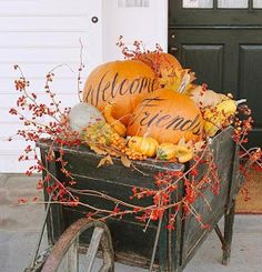 The Homesteading Cottage: 31 Days :: Prepare for Halloween with 24 Pumpkin Ideas - Day 11