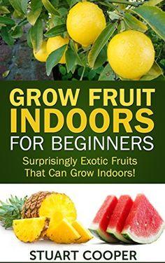 Grow Fruit Indoors For Beginners: Surprisingly Exotic Fruits That Can Grow Indoors! (beginners gardening, grow fruits indoors, urban farm, indoor gardening, ... organic fruit grow, grow exotic fruit,) by Stuart Cooper, http://www.amazon.com/dp/B00LJDUWQ4/ref=cm_sw_r_pi_dp_2vTWtb09FAWWH