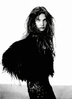 those eyes .... Vogue Italia (September 2004) as A Girl of Singular Beauty…
