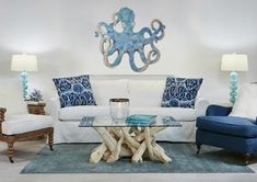 coastal octopus art