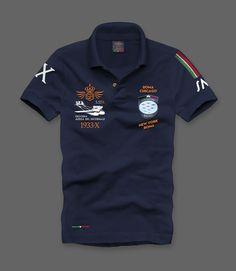 MM001X DECENNALE Polo dedicata alla Trasvolata Atlantica del decennale Regia Aeronautica.