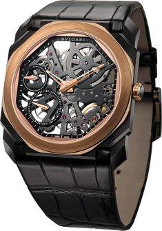 La Cote des Montres   La montre Bulgari Octo Finissimo Squelette -  Spectaculaire, voluptueuse et 7a5f273fde7