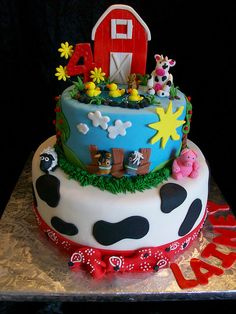 images of farm cakes | Farmyard Birthday | Flickr - Photo Sharing!