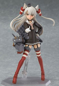 Figma Amatsukaze The wind is on our side! From the popular browser game 'Kantai Collection -KanColle-' comes a figma of the Kagerou-class Destroyer, Amatsukaze! Using the smooth. Poses Silhouette, Female Characters, Anime Characters, Figure Poses, Anime Figurines, Anime Toys, Figure Photography, Mode Shop, Anime Japan
