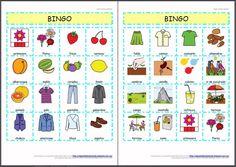 MATERIALES - Bingos sobre la Primavera.    Conjunto de bingos sobre la primavera para trabajar con los alumnos en el aula, tanto a nivel de vocabulario, como de comprensión o atención.    http://arasaac.org/materiales.php?id_material=932