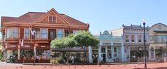 Old Town Eureka, CA. fun shops and good food (Chapala's, Ramones, los Bagels...)