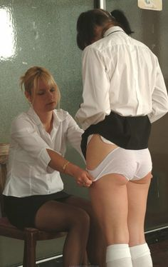 Spanked in athletics knickers