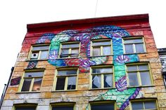 Street art in Amsterdam