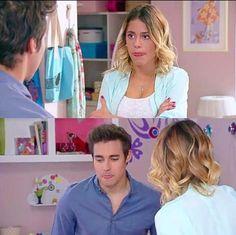 Tini and Jorge! #Violetta3