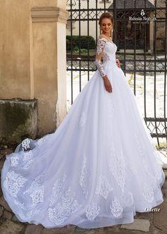 Vestido de noiva Odette - Coleção Lago dos Cisnes 2018.     www.russianoivas.com