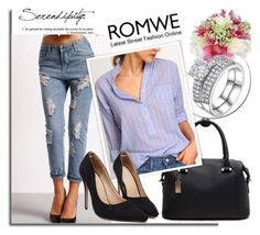 """ROMWE 5/2"" by melissa995 ❤ liked on Polyvore"