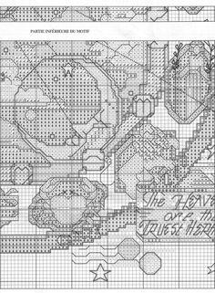 Borduurpatroon Sterrenbeeld Kruissteek *X-Stitch Pattern Zodiac ~Dierenriem *Zodiac 4/8~