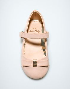 ballerina with bow - Shoes - Baby girl (3-36 months) - Kids - ZARA United States