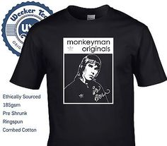 Ian Brown Tribute T Shirt - 90s Stone Roses Indie Casual Top, Free 1st Class UK!