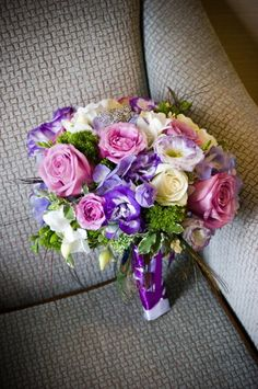 Discover the best ideas for Wedding Flowers! Read articles and watch videos about Wedding Flowers. Wedding Dreams, Dream Wedding, Boquet, Every Girl, Soft Colors, Big Day, Fairytale, Purple, Pink