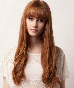 Moda Cabellos: Cortes de pelo largo rojo Verano 2014