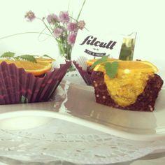 Osviežujúce pohánkové brownies s pomarančovo-zázvorovým topingom (recept)
