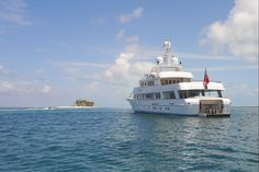 The island, the experience, the Odyssey.   #TJB #SuperYacht #RemarkableExperiences
