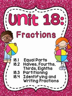 Fractions in First Grade