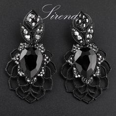 Cheap drop earrings, Buy Quality crystal rhinestone earrings directly from China rhinestone drop earrings Suppliers:  Notice:  - NO Minimum Order / Wholesale Price/ Drop Shipping  - Order > 150USD Express FREE to US/CA/West EU/AU