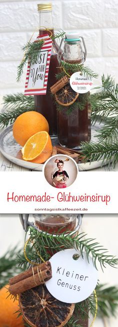 You can use the mulled wine syrup to pour or refine it and it is a wonderful gift for people we love to give away for Christmas. My mulled wine syrup recipe is very popular and easy to make. A DIY gift for Christmas -. Christmas Brunch, Christmas Bulbs, Christmas Gifts, Christmas Cookies, Xmas, Sylvester Party, Bug Out Bag Checklist, Starchy Foods, Best Oatmeal