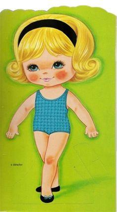 Nos poupées à découper - (page 3) - chantalou1607eden.eklablog.com
