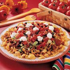 10 minute taco salad