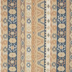 The K0869 AZTEC SAND upholstery fabric by KOVI Fabrics features Country or Lodge or Cabin, Abstract or Geometric, Southwestern, Stripe pattern and Beige or Tan or Taupe, Coral or Orange or Persimmon, Light Blue as its colors. It is a Chenille type of upholstery fabric and it is made of 81% Olefin, 19% polyester material. It is rated Exceeds 50,000 Double Rubs (Heavy Duty) which makes this upholstery fabric ideal for residential, commercial and hospitality upholstery projects. 800-8603105