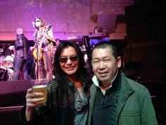 Two amazing guru Yu and tomonobu