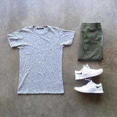 Men Casual T-Shirt Outfit 🖤 Very Attractive Casual Outfit Grid, Urban Fashion, Boy Fashion, Mens Fashion, Fashion Outfits, Cool Outfits, Casual Outfits, Summer Outfits, Men Casual, Moda Men