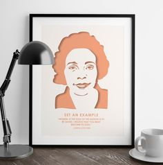 """""""Women, if the soul of the nation is to be saved, I believe that you must become its soul."""" - Coretta Scott King  It's here! My latest addition to my #powerfulwomen collection. #neverthelessshepersisted #shepersisted #corettascottking #feminismquotes #inspirationalquotes #motivationalquotes #motivation #makeithappen"""