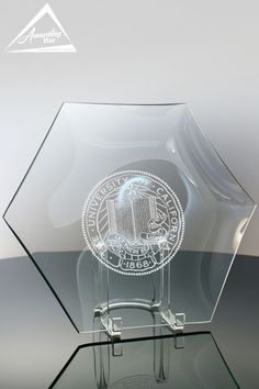 Give recognition with the Clear Glass Hexagon Plate or shop other engraved glass awards. Corporate awards and recognition gifts from Awarding You include free logo and personalized engraving. Glass Awards, Corporate Awards, Plate Stands, Free Logo, Clear Glass, Plates, Gifts, Home Decor, Art