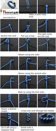 79 Best Paracord Bracelet Instructions Images On Pinterest