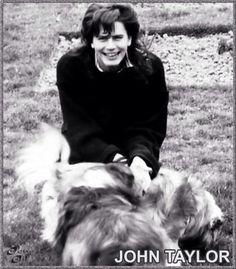 John Taylor's smile
