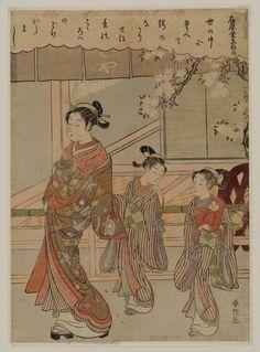 三十六歌仙 在原業平朝臣 Ariwara no Narihira Ason, from the series Thirty-Six Immortal Poets