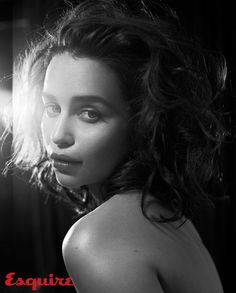 Emilia Clarke x Esquire Nov. 2015 by Vincent Peters - Absolutely stunning Emilia Clarke photographed by Vincent Peters for the November 2015 issue of Esquire. Emilia Clarke, Penelope Cruz, Game Of Thrones, Daenerys Targaryen, Femmes Les Plus Sexy, Mother Of Dragons, Esquire, Boudoir Photography, Glamour Photography