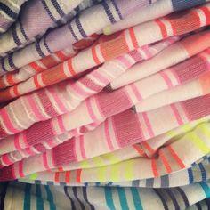 Beautiful, soft Lemlem scarves at @SurfBazaar.