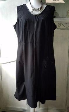 Robe Kiabi taille 46 - Robe de chez Kiabi en taille 46 Bleu, blanc, noir  Mise moins de 5 fois   La famille vide son dressing du 38 au 56+   Pinterest d334c6fd2ba4