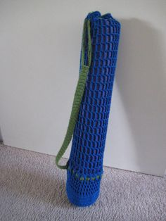 PATTERN-Crochet Yoga Mat Bag