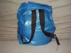 Picture of Recycled Ikea-bag Backpack