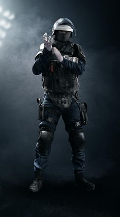 Doc. GIGN. Base Game Operator. Special MPD-0 Stim Pistol this weapon can heal both Doc and down or injured teammates. Three Armor One Speed Defender.
