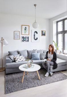 Si tienes un apartamento de menos de 50 metros cuadrados aquí tienes algunas imágenes que te inspirarán a la hora de decorarlo. #decoración #deco #inspiración #apartamento #apartment