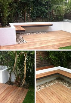 Studio Satta // London Garden Designers - Another! Garden Pavers, Backyard Landscaping, Balkon Design, Design Exterior, Small Courtyards, London Garden, Contemporary Garden, Garden Seating, Garden Care