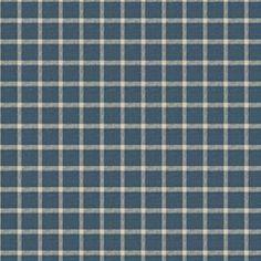 MENER - INDIGO. French General Fabric. Image: Calicocorners.com