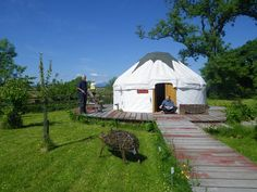 Trossachs Yurts, West Moss-side Organic Farm, Perthshire. The Carse of Stirling is an extensive area of agricultural land and a great location for close encounters with the natural world, bird watching, walking or cycling http://www.organicholidays.co.uk/at/2836.htm