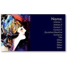 Business card, silent film star Martha Mansfield