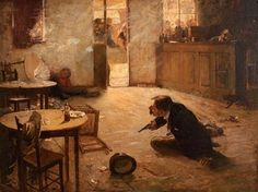 The Gambler (1892) by William Robinson Leigh