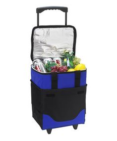 This Blue Collapsible Rolling Cooler is perfect! #zulilyfindsI have similar ice chest, so this PINS for you :)